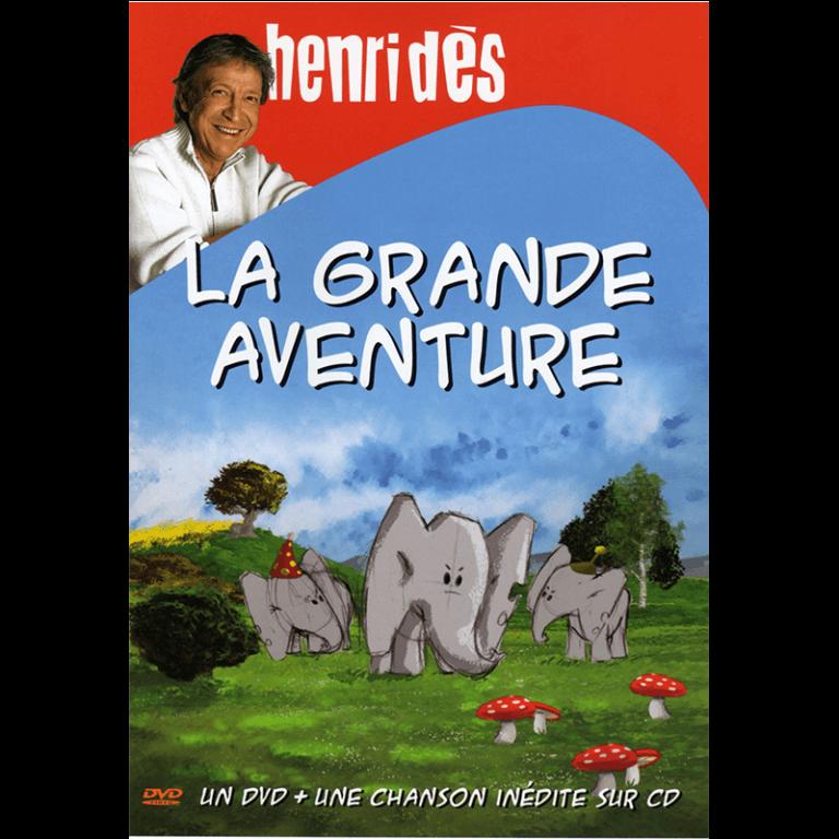 DVD Henri Dès - LA grande aventure