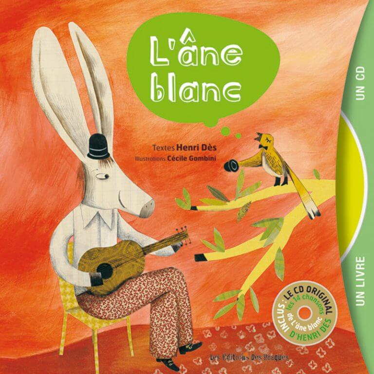 Livre CD - L'âne blanc - Henri Dès