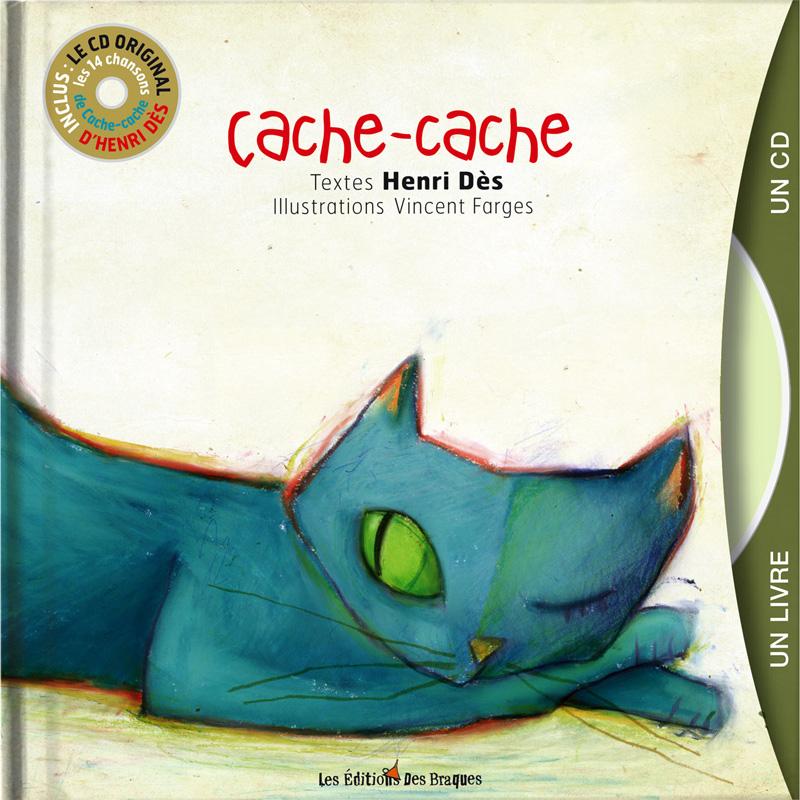 Livre CD - Cache Cache - Henri Dès