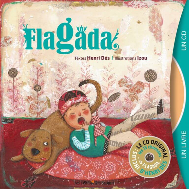 Livre CD - Flagada - Henri Dès
