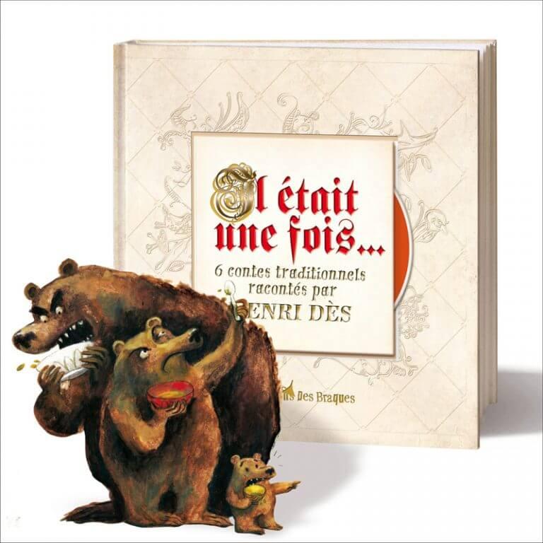 Il était une fois - Livre CD - Henri Dès