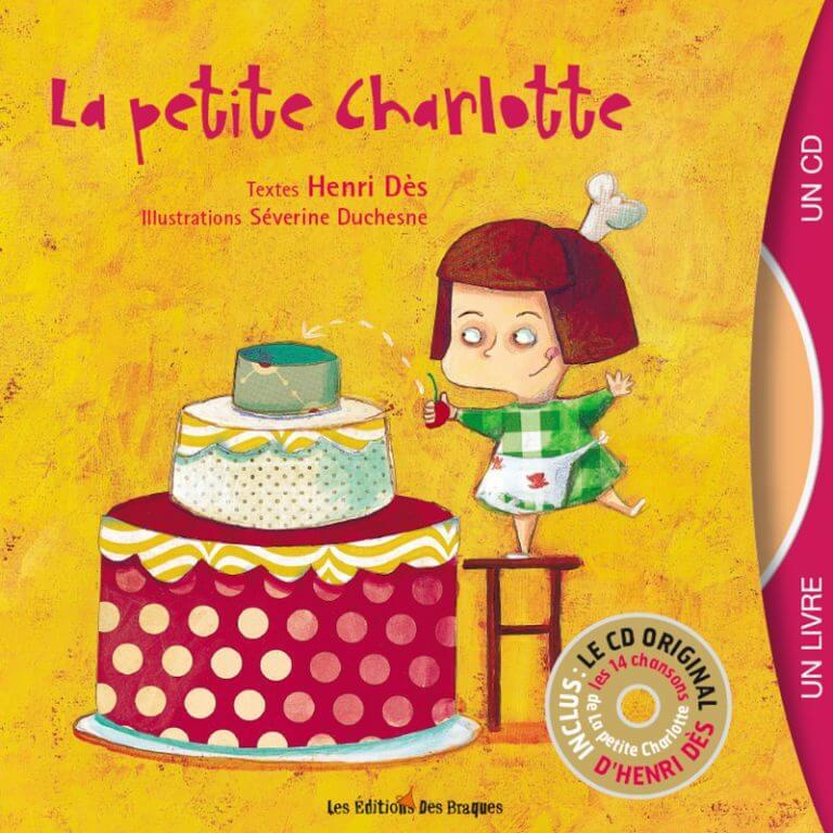Livre CD - La petite charlotte- Henri Dès