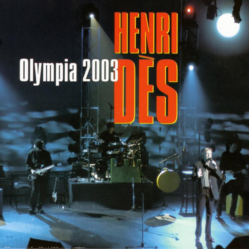 HENRI DES - Live Olympia 2003