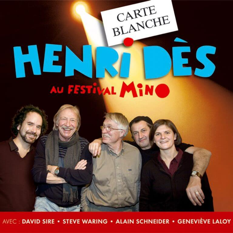 HENRI DES - Carte blanche