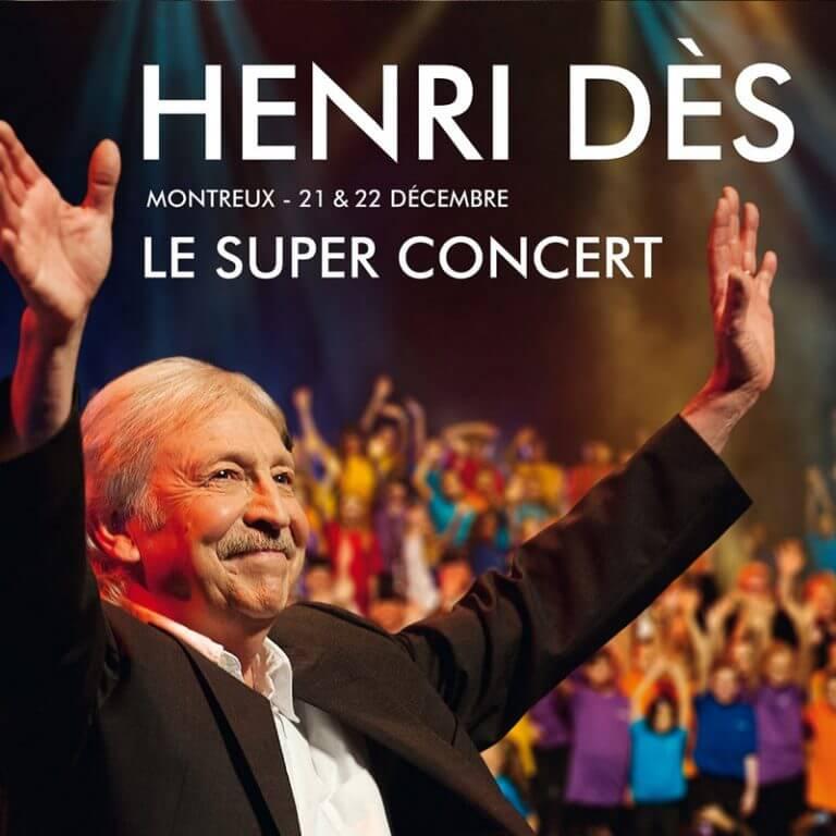 HENRI DES Le super concert
