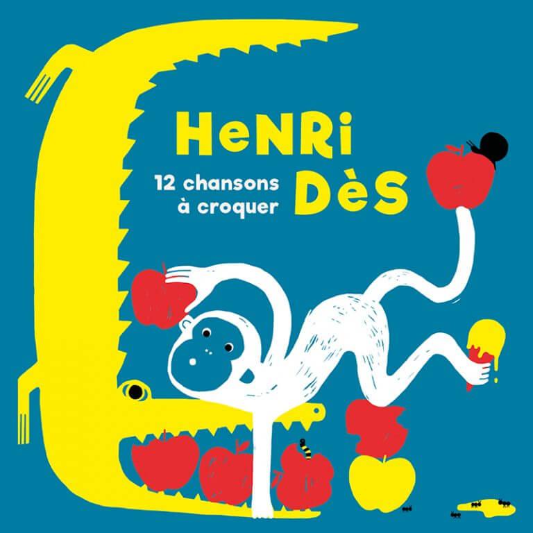 12 chansons à croquer Henri Des