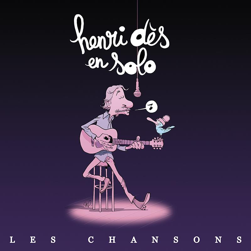 Henri Des chansons album En solo