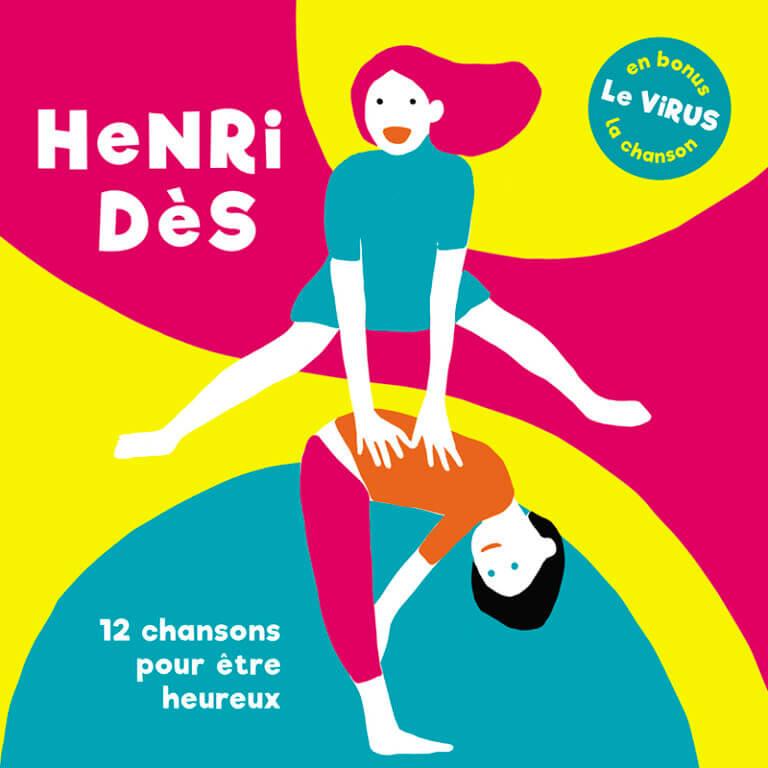 album 12 chansons pour etre heureux henri des